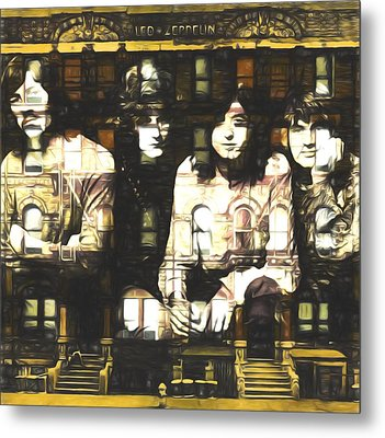 Led Zeppelin Physical Graffiti Metal Print