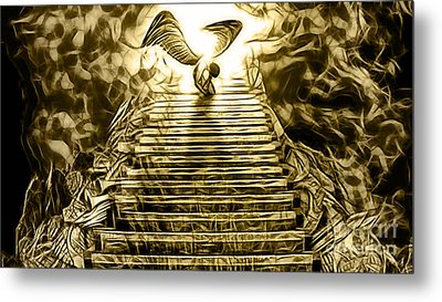 Led Zeppelin Stairway To Heaven Metal Print by Marvin Blaine