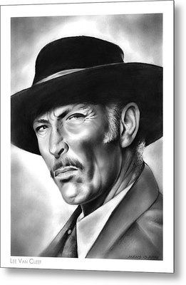 Lee Van Cleef Metal Print