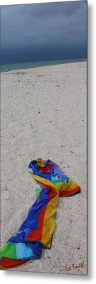 Left Behind Metal Print by Ed Smith