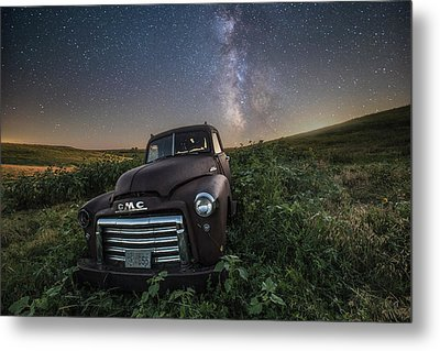 Metal Print featuring the photograph Left To Rust by Aaron J Groen
