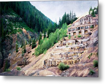 Leftovers From Sunnyside Mill Metal Print by Lana Trussell