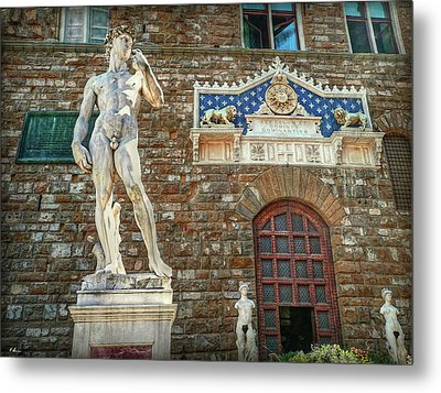 Metal Print featuring the photograph Legal Nudity by Hanny Heim