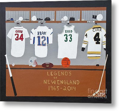 Legends Of New England Metal Print