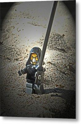 Lego Ninja Metal Print