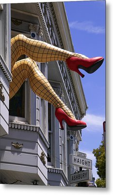 Legs Haight Ashbury Metal Print
