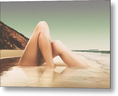 Legscape II Metal Print by Fran Rodriguez