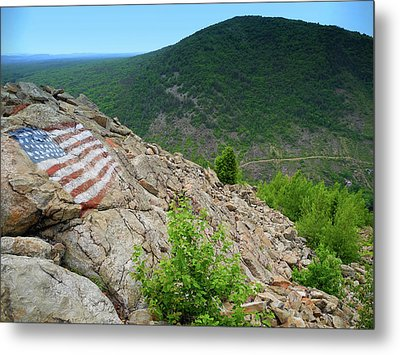 Lehigh Gap On The Appalachian Trail Metal Print by Raymond Salani III