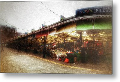 Metal Print featuring the photograph Leicester Market by Isabella F Abbie Shores FRSA