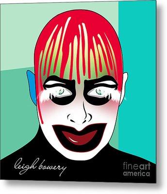 Leigh Bowery Metal Print by Mark Ashkenazi