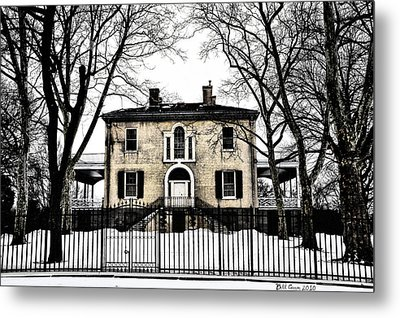 Lemon Hill Mansion - Philadelphia Metal Print by Bill Cannon