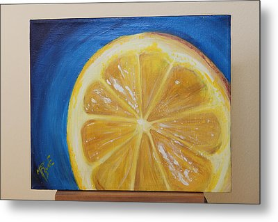 Lemon Metal Print by Matt Burke
