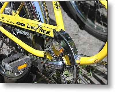 Lemon Peeler Metal Print by Lauri Novak