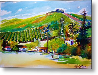 Lemons 400 From Sharons View Metal Print by Therese Fowler-Bailey