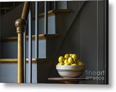 Lemons - D009753 Metal Print by Daniel Dempster
