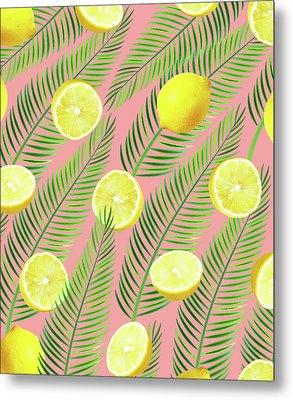 Lemons Metal Print by Uma Gokhale