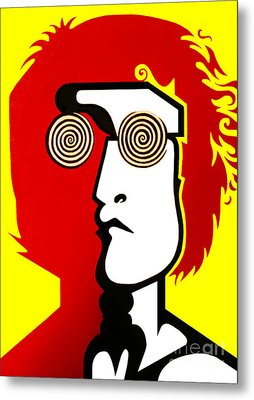 Lennon Day Tripper Metal Print by Kenny Cannon