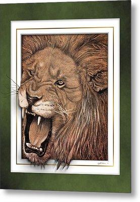 Leo Metal Print by Jim Turner