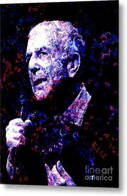 Leonard Cohen Metal Print by Tammera Malicki-Wong