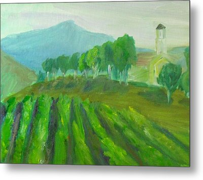 Leonesse Cellars Home On The Hill Metal Print by Jeremy McKay