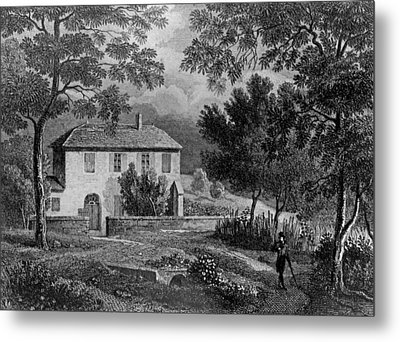 Les Charmettes House Of Madame De Warens Near Chambery Metal Print