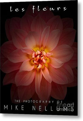 Les Fleurs Coffee Table Book Cover Metal Print by Mike Nellums