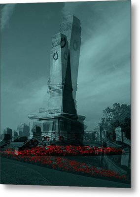 Metal Print featuring the photograph Lest We Forget. by Keith Elliott