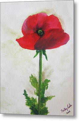 Lest We Forget Metal Print by Trilby Cole