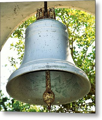 Metal Print featuring the photograph Let Freedom Ring ...  by Ray Shrewsberry