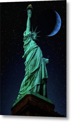 Metal Print featuring the photograph Let Freedom Ring by Darren White