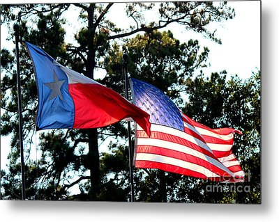 Metal Print featuring the photograph Let Freedom Ring by Kathy  White