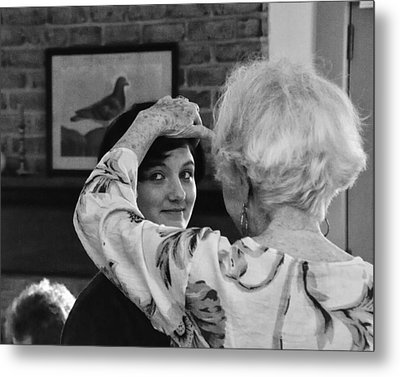 Let Me See That Face Of Yours V3  2011 Metal Print by Joseph Duba