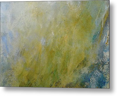 Let The Earth Bring Forth Grass Metal Print