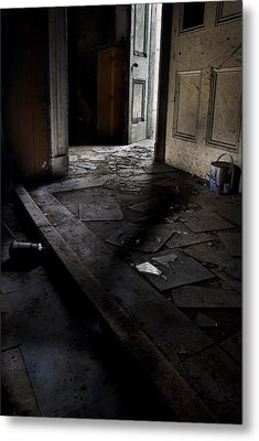 Let The Light In. Metal Print