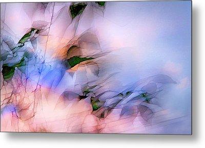 Metal Print featuring the photograph Let The Winds Of The Heavens Dance by Theresa Tahara