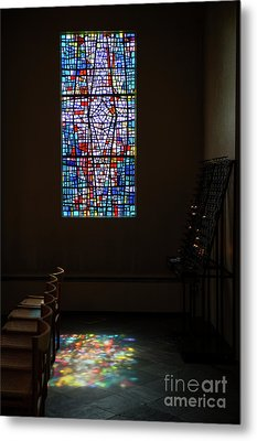 Let There Be Coloured Light... Metal Print by Nina Stavlund