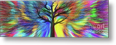 Metal Print featuring the photograph Let's Color This World By Kaye Menner by Kaye Menner