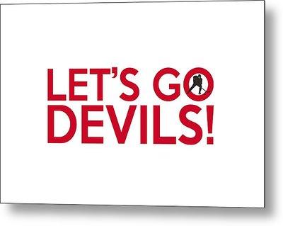 Let's Go Devils Metal Print