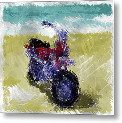 Lets Go For A Ride Metal Print by Russell Pierce