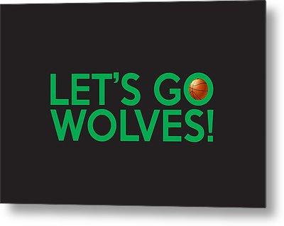 Let's Go Wolves Metal Print by Florian Rodarte