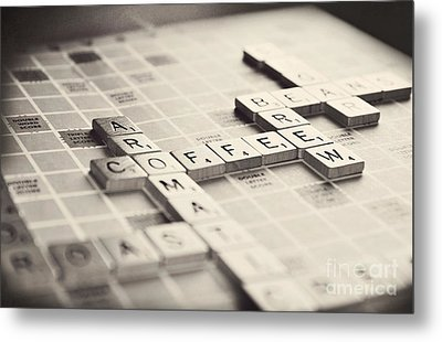 Let's Play A Game Metal Print