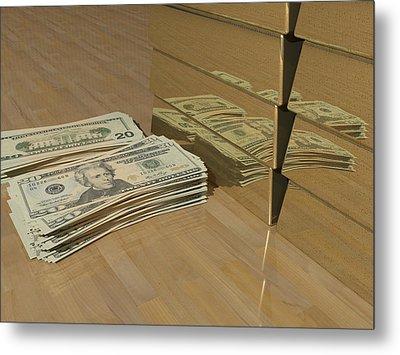 Level One Money Manifestation  Metal Print
