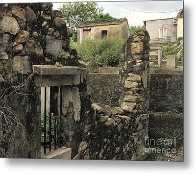 Levels Of Time Metal Print by Kathy Daxon