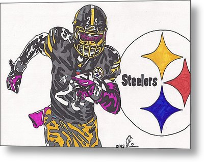 Le'veon Bell 2 Metal Print by Jeremiah Colley