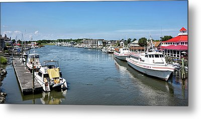 Metal Print featuring the photograph Lewes Delaware by Brendan Reals