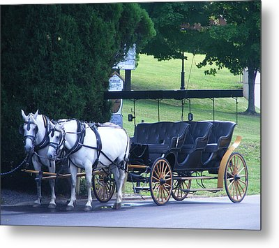 Lexington Carriage Metal Print