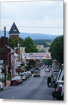 Lexington Va In July Metal Print