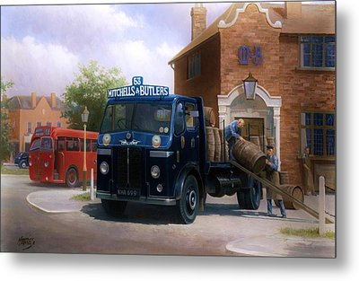 Leyland Dray. Metal Print by Mike  Jeffries