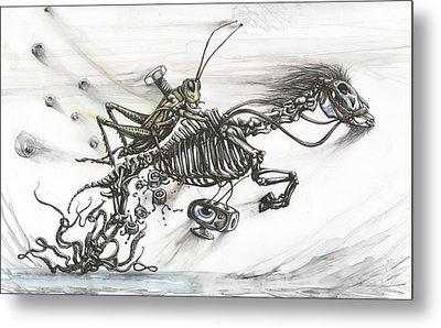 Liberation Ride Metal Print by Tai Taeoalii