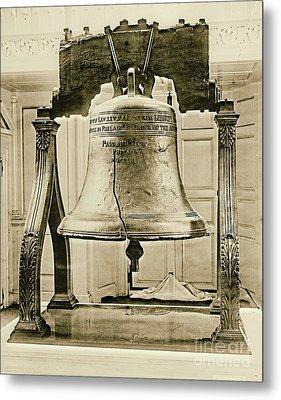 Liberty Bell At Independence Hall 1901 Metal Print